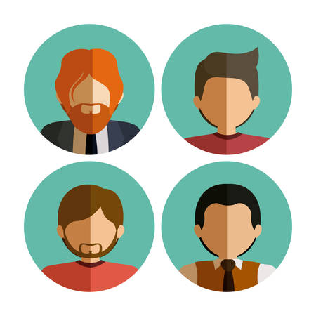 communication icons: People and Communication icons design