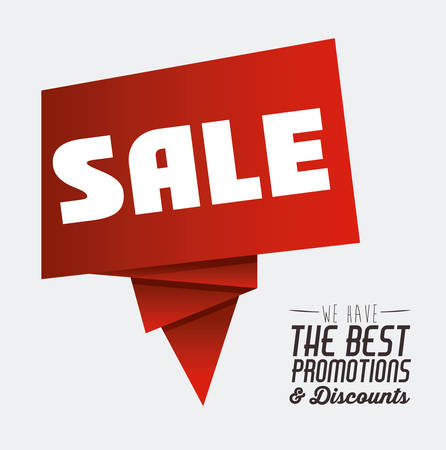 discount: Promotions and discounts  message digital design