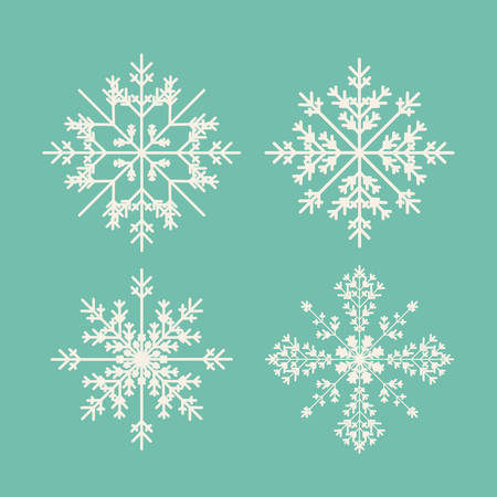 christmas concept: Merry Christmas concept with decoration icons design