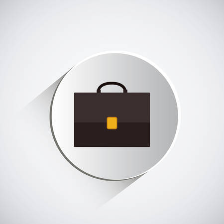 seal stamp: Suitcase concept over white seal stamp design, vector illustration eps 10