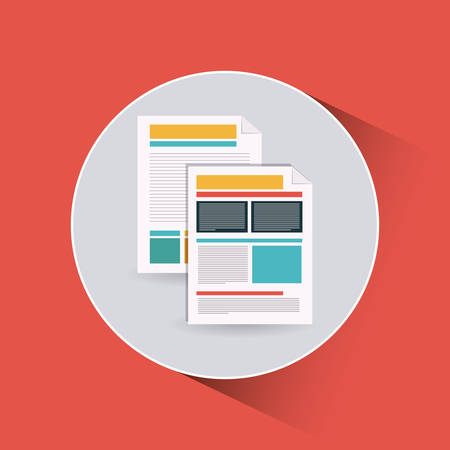docs: documents icon design, vector illustration eps10 graphic