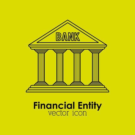 entity: financial entity design, vector illustration eps10 graphic Illustration