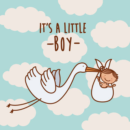 baby on the way design, vector illustration eps10 graphic Illustration