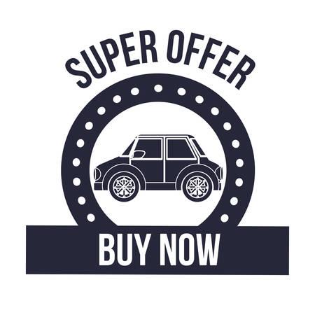 dealership: cars on sale design, vector illustration eps10 graphic Illustration
