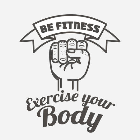 eps10: fitness lifestyle design, vector illustration eps10 graphic