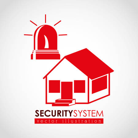 safe and sound: security systems design, vector illustration eps10 graphic