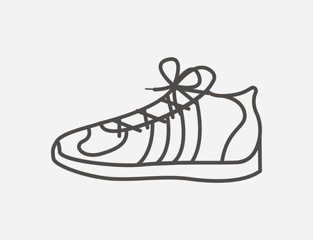 tennis shoes: tennis shoes design, vector illustration eps10 graphic