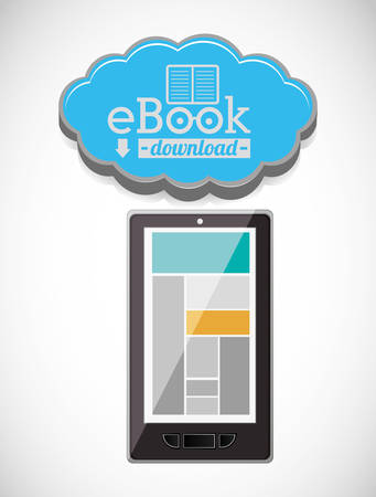 bookstore: online bookstore design, vector illustration eps10 graphic Illustration