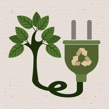 environmental campaing  design, vector illustration eps10 graphic Illustration