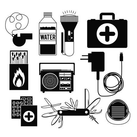 responders: emergency service design, vector illustration eps10 graphic Illustration