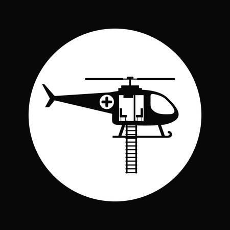 responders: emergency service design, vector illustration