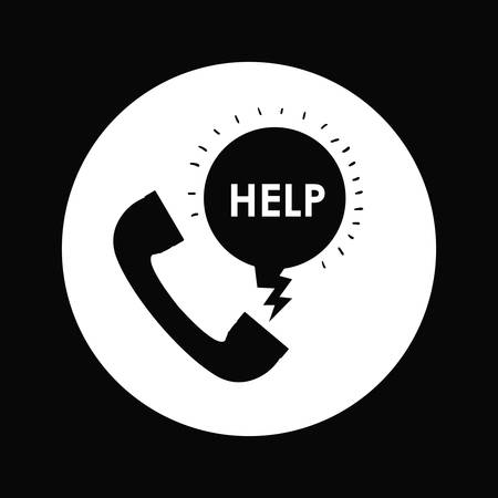 rescue: emergency service design, vector illustration graphic