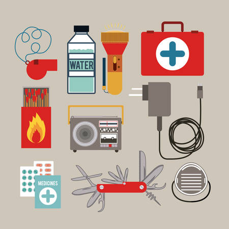 responders: emergency service design, vector illustration graphic