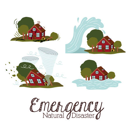 ramp: natural disaster design, vector illustration eps10 graphic