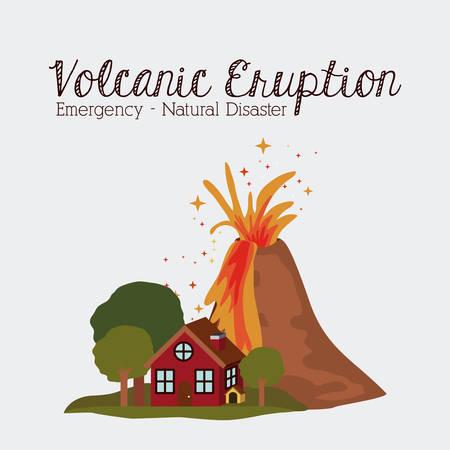 natural disaster: natural disaster design, vector illustration eps10 graphic