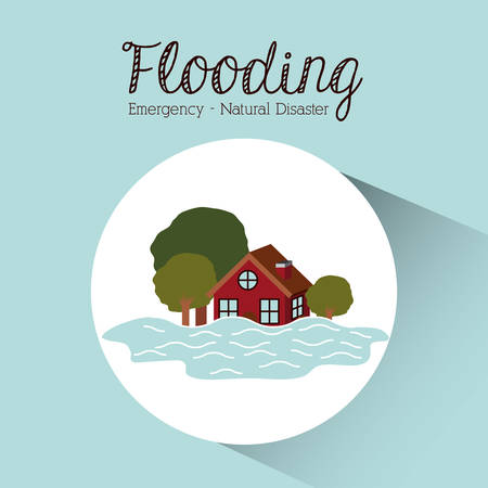 natural disaster: natural disaster design, vector illustration graphic Illustration