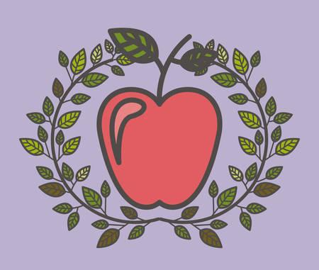 healthier: eat healthier design, vector illustration eps10 graphic