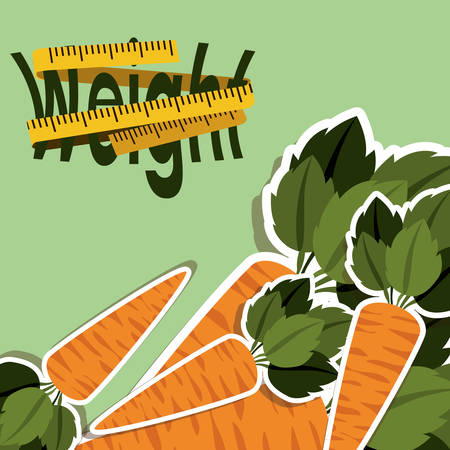 vegetable fat: lose weight design, vector illustration  graphic
