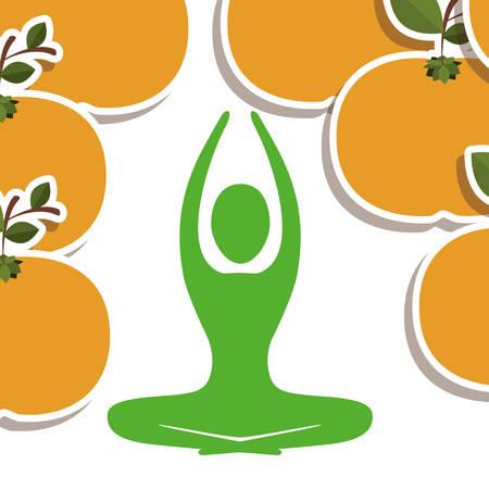 nutrition icon: life health design, vector illustration  graphic