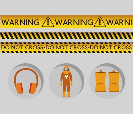dangerous: danger warning design, vector illustration graphic Illustration