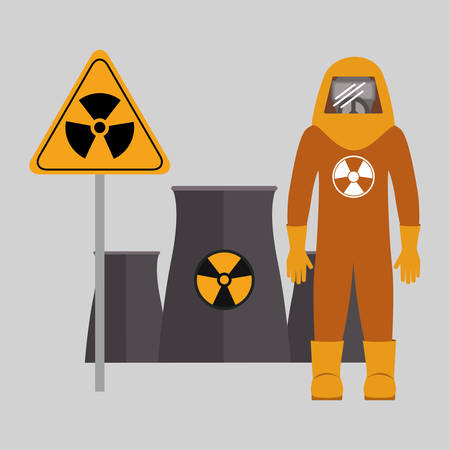 seguridad industrial: dise�o de seguridad industrial, ilustraci�n vectorial gr�fico Vectores
