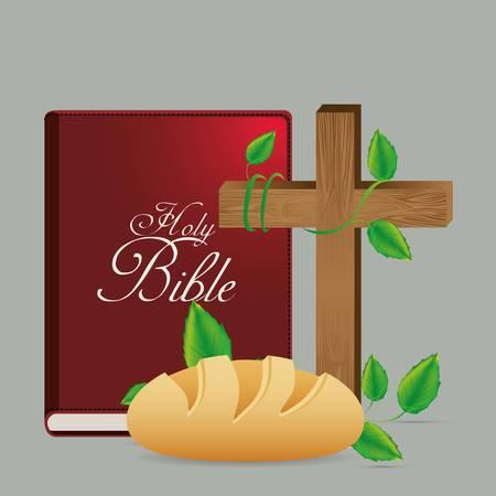 religion catholique: catholic religion design, vector illustration  graphic