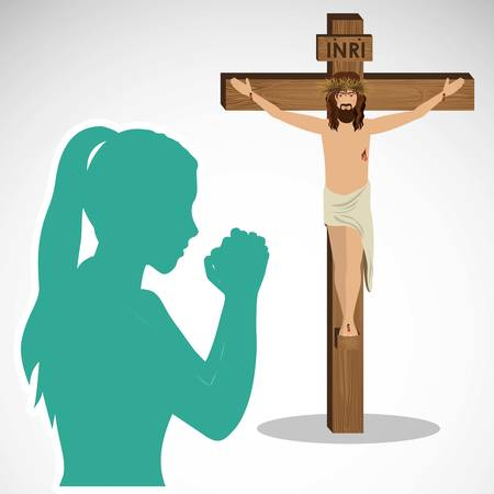 catholic: catholic religion design, vector illustration graphic Illustration