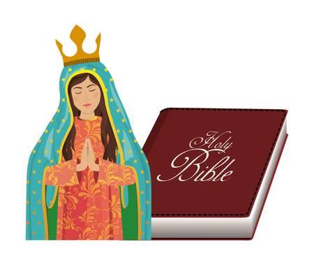 religion catolica: dise�o de la religi�n cat�lica, ilustraci�n vectorial gr�fico