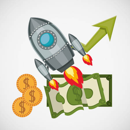 finacial: financial start up design, vector illustration eps10 graphic