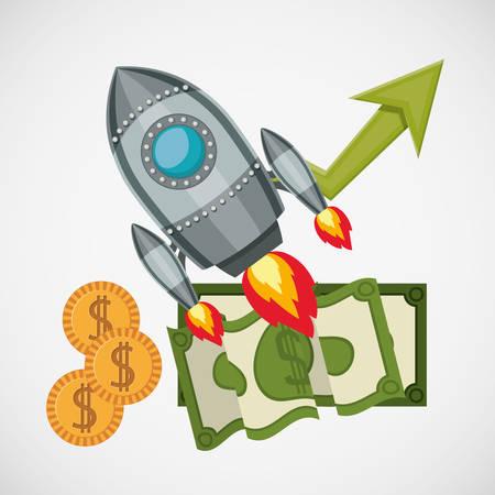 finacial: financial start up design, vector illustration eps10 graphic