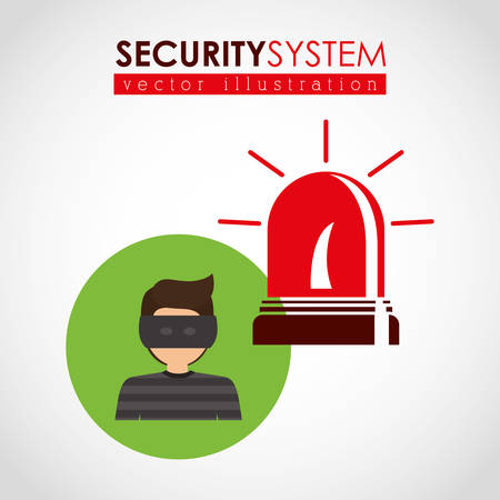 turret: security systems design, vector illustration eps10 graphic