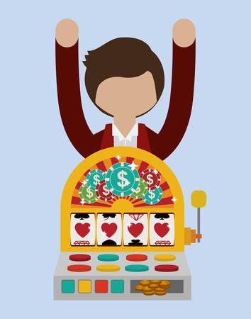 lucky man: casino games design