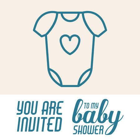 Baby shower invitation design vector illustration eps10 graphic baby shower invitation design vector illustration eps10 graphic stock vector 47686066 filmwisefo