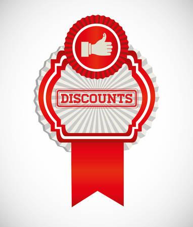 medal like: trade discount design, vector illustration eps10 graphic Illustration