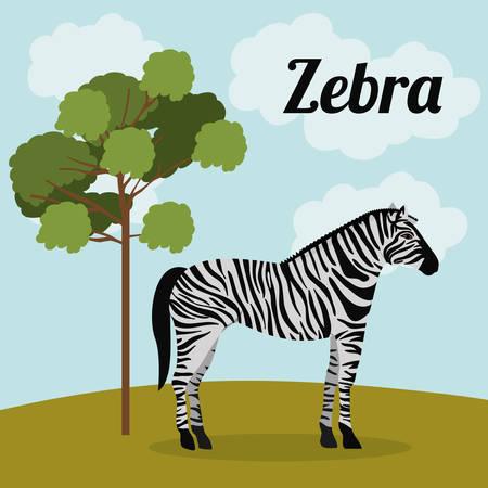 wildlife design: animal wildlife design, vector illustration eps10 graphic