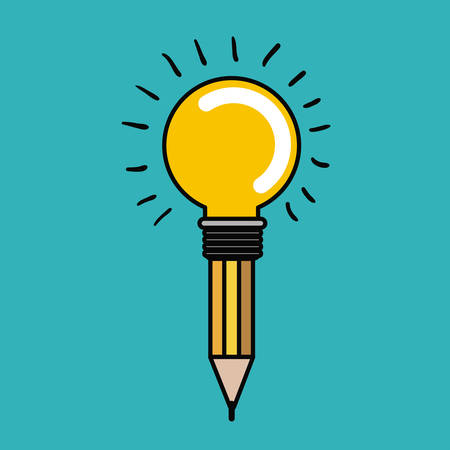 best idea concept design, vector illustration eps10 graphic Illustration