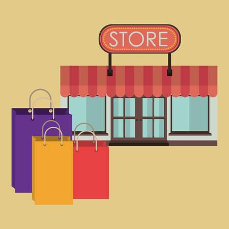 retail place: commerce icons design, vector illustration eps10 graphic