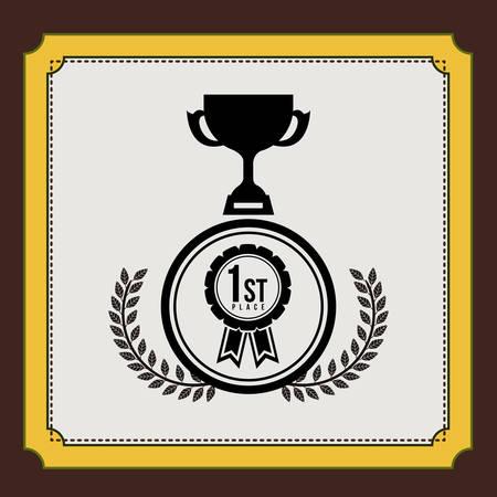 championship: championship award design, vector illustration