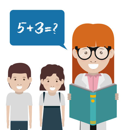 studens: back to school design, vector illustration eps10 graphic