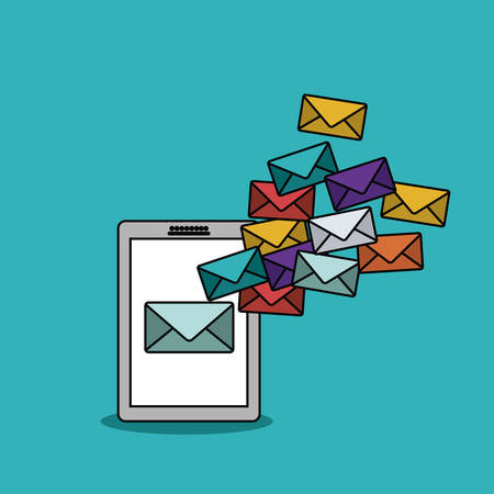 mail marketing: business icon design illustration graphic