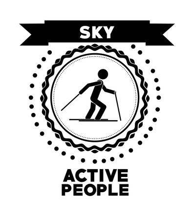 active: active people design, vector illustration eps10 graphic