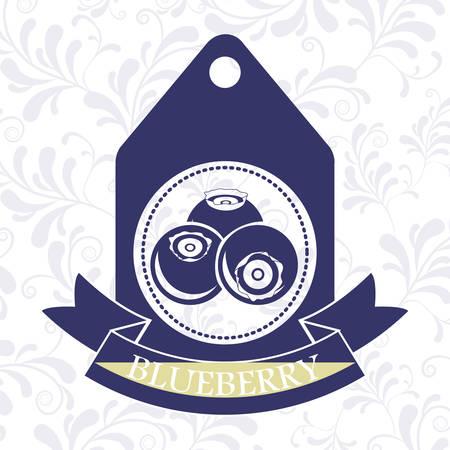delicious blueberry design Illustration