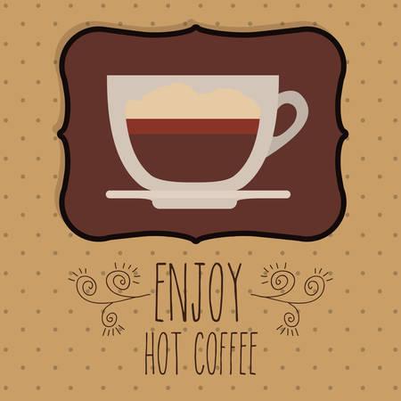 delicious: delicious coffee design, vector illustration eps10 graphic