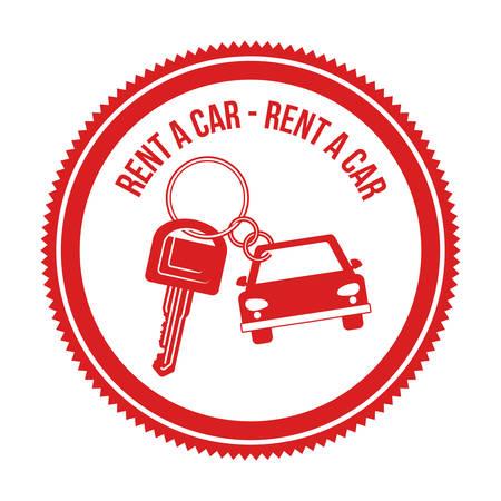 dealership: rent a car design, vector illustration eps10 graphic Illustration