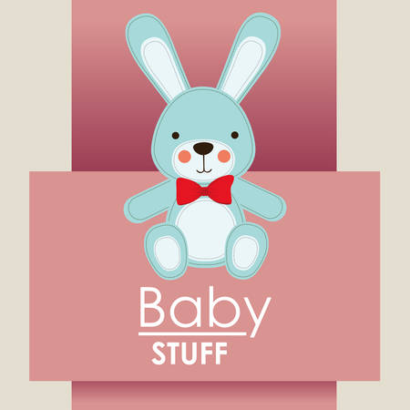 baby shower design, vector illustration eps10 graphic Illustration