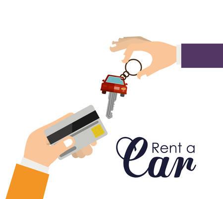rent: rent a car design, vector illustration  graphic Illustration