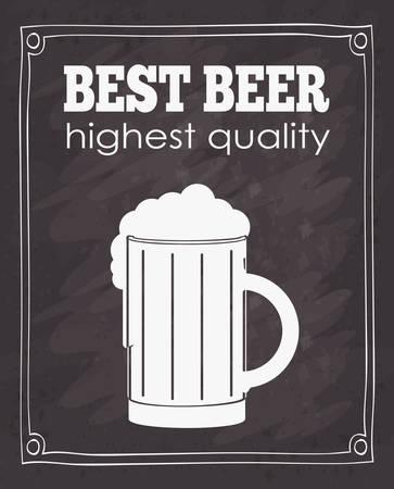free background: cold beer design, vector illustration eps10 graphic Illustration