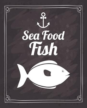 specie: sea food fish design, vector illustration eps10 graphic
