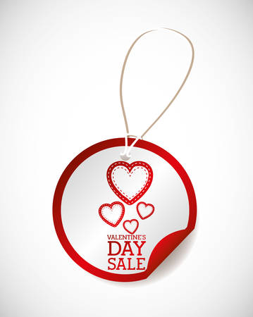 valentines day sale design, vector illustration eps10 graphic