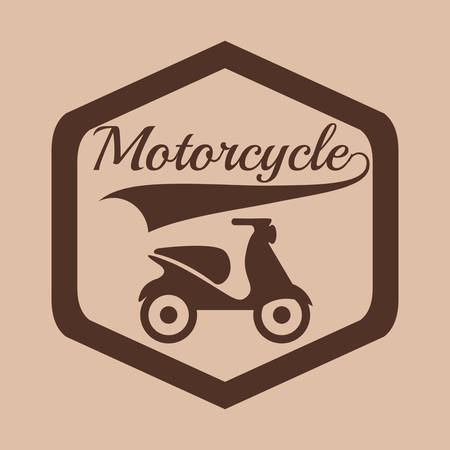 motorcycle rider: motorcycle rider design Illustration